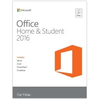 Office Mac Home Student 2016 Russian Russia Only Medialess No Skype P2