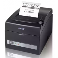 Принтер Citizen  CT-S310II; USB + serial; 230V; internal PS; черный