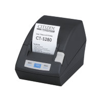 Принтер чеков Citizen POS принтер Citizen CT-S280, черный, USB, код CTS280UBEBK