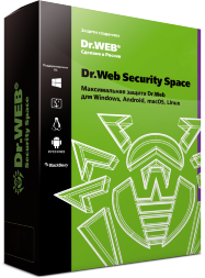 Dr.Web Security Space, КЗ, на 12 мес.