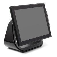 "Сенсорный моноблок POScenter POS900 17"", P-CAP touch, Intel® J1900 2.0GHz; 4Gb RAM; SSD 128Gb; MSR"