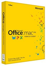 Microsoft Office Mac Home Business 1 PK 2011 Russian 1 License Russia Only DVD Emerging Market