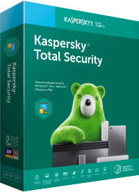 Kaspersky Total Security - Multi-Device Russian Edition. 2-Device 1 year Renewal Download Pack, p/n KL1919RDBFR