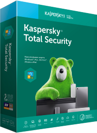 Kaspersky Total Security - Multi-Device Russian Edition. 2-Device 1 year Base Download Pack, p/n KL1919RDBFS
