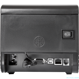 Чековый принтер PayTor TRP8004 (S-L253), 80 мм, RS-232-USB-Ethernet, звонок, веб-интерфейс, черный, p/n TRP-80-USE-4-B11x